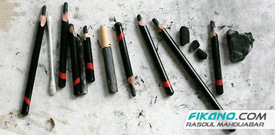 تراشیدن مداد کنته آموزش طراحی کاراکتر - جلسه اول - وسایل طراحی - طراحی ...