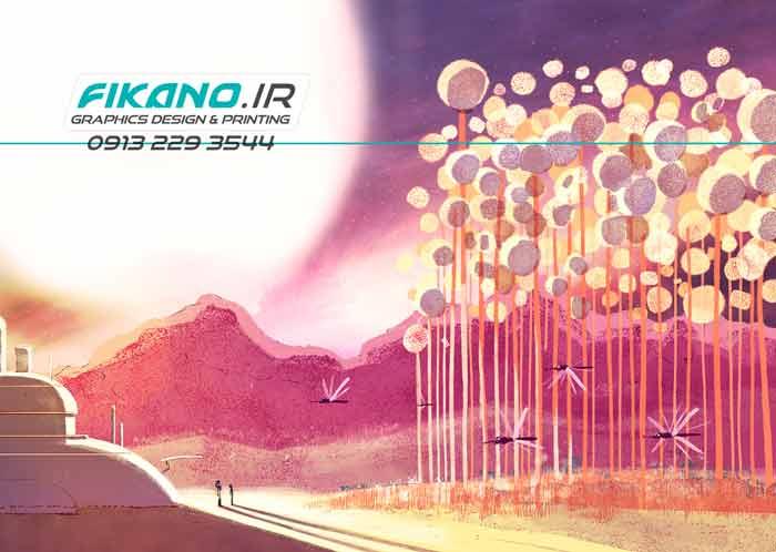 سفارش طراحی تصویرسازی و طراحی کاراکتر - در سایت فیکانو www.fikano.ir