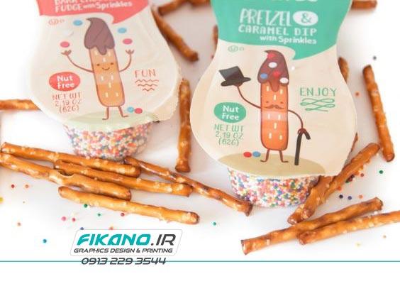 سفارش طراحی بسته بندی خوراکی - سایت فیکانو www.fikano.ir