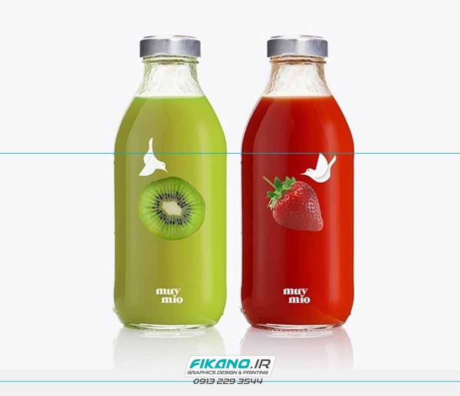 سفارش طراحی بسته بندی آبمیوه - وب سایت فیکانو www.fikano.ir