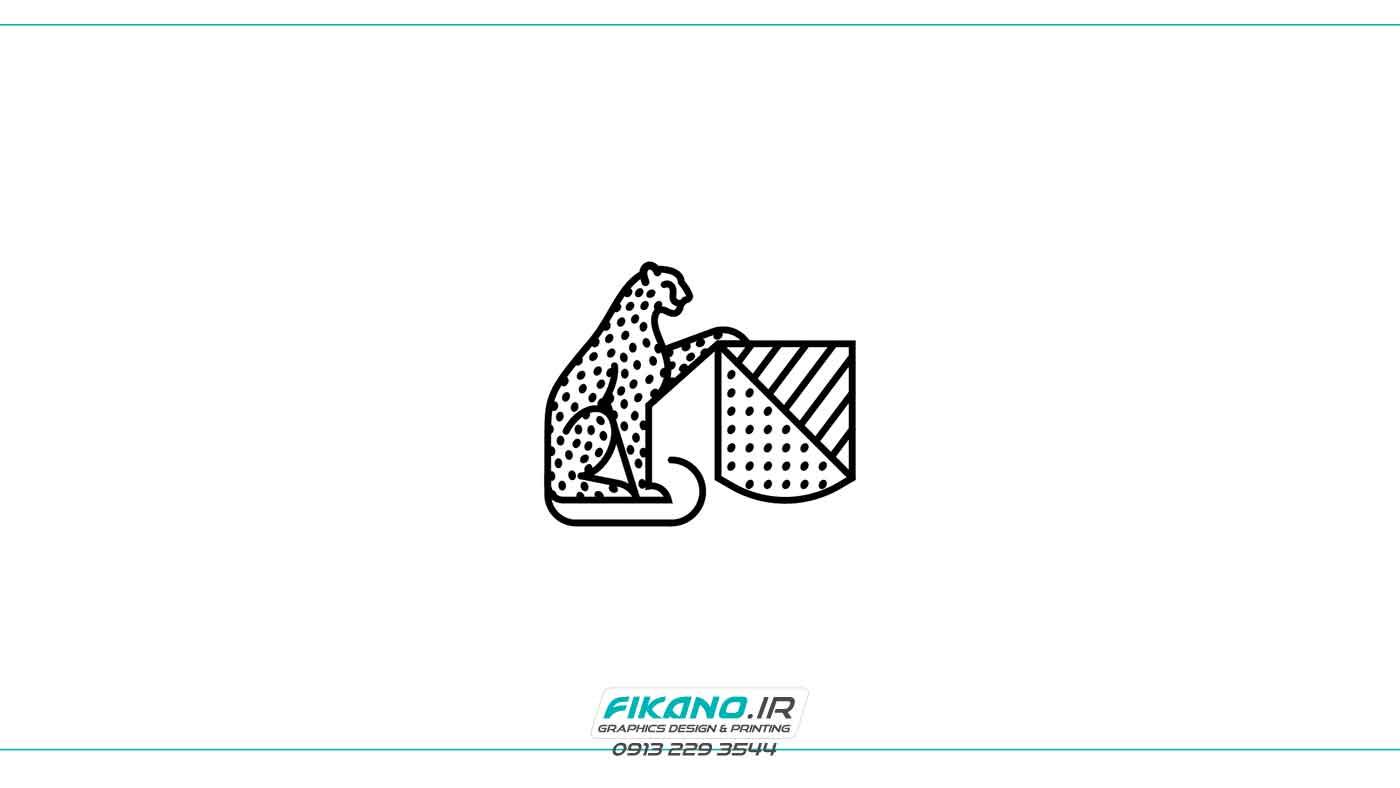 ضرب المثل با نقاشی طراحی پیکتوگرام و لوگو حیوانات - طراحی گرافیک و چاپ فیکانو