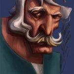 نقاشی اثر رسول مهدی جبار در سایت فیکانو - www.fikano.ir